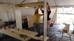 How to Build a Side Fold Murphy Bunk Bed how tos DIY