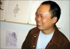 St. Louis, Missouri, January, 2004 ¡V In his first solo museum exhibition, artist Yun-Fei Ji shares his ... - person-photo