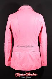 las scarlett baby pink genuine soft quilted nappa lambskin leather