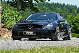 Car Designs: Inden-Design Mercedes SL 63 AMG Black Saphir