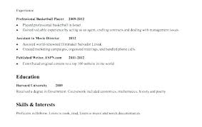 teenager resume examples resume with little work experience sample student resume examples