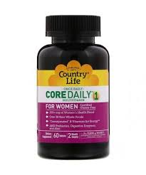Country Life <b>Core Daily</b>-<b>1 Multivitamin</b> for Women 60 Tablets