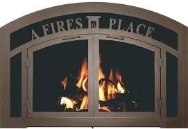 small fireplace doors bronze fireplace doors fireplace glass door bar iron sidelight transom in oil rubbed