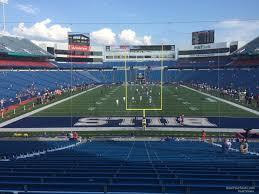 Ralph Wilson Stadium Interactive Seating Chart New Era Field Section 101 Rateyourseats Com