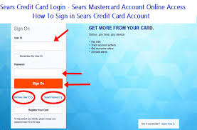 Monitor your credit health and track your progress with free online access to your experian credit score every month. Sears Credit Card Login Sears Mastercard Account Online Access Howtologintech