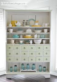Washi Tape Kitchen Cabinets Cottage Kitchen Apothecary Cabinet A Sensible Storage Solution