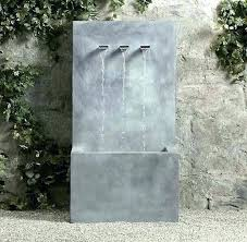 wall mounted fountains modern outdoor water