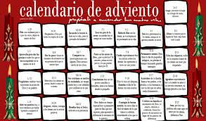 Calendario De Abviento Calendario De Adviento 2011