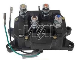 kfi winch replacement solenoid contactor switch atv utv 2500 3000 winch solenoid contactor switch kfi warn champion superwinch badland atv utv