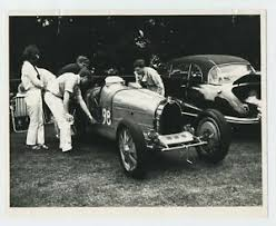 This page is especially for those bugattistes who have questions, current whereabouts of particular vehicles, history of verhicles, everything you can think about! Mechanics Overlooking A Classic Bugatti Sports Car Vintage 1960 S Photograph C4 Ebay