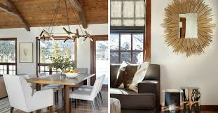 rustic interior lighting. Anything But Rustic: A Modern Mountain Home In Jackson Hole Rustic Interior Lighting M