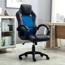 leather computer chair racing style office comter chair leather swivel chair napping high back new leather