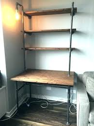 office shelving units. Desk And Shelves Over Shelving Shelf Unit Industrial Pipe With . Office Units