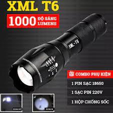 Đèn Pin Mini - Đèn Pin Siêu Sáng Police XML-T6 Có 5 Chế Độ Chiếu Xa