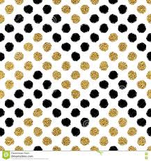 black and gold glitter chevron background. Seamless Pattern With Gold Glitter And Black Chevron Of Circle On Background