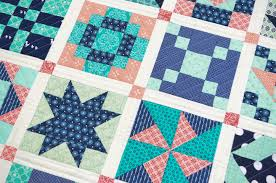 Six Inch Sampler Quilt & Free Project – She Quilts Alot & Six Inch Sampler Quilt & Free Project Adamdwight.com