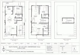 30 50 duplex house plans south facing unique excellent 2 bedroom south facing duplex house