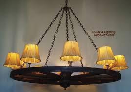 ww025 54 10 54 inch dia rustic wagon wheel chandelier light