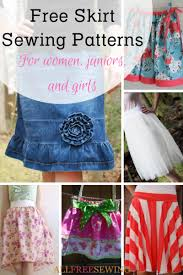 Free Skirt Patterns Fascinating 48 Free Skirt Sewing Patterns How To Make A Skirt Out Of Jeans