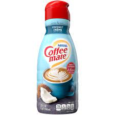 One of the things i needed to really cut back on was flavored coffee creamer. Coconut Creme Flavored Coffee Creamer 32oz Official Coffee Mate