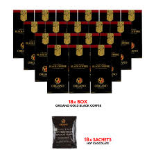 Organo™ gourmet black coffee is a robust blend that mixes in an instant for a flavourful cup of coffee. Pod Holders Home 18 Boxes Organo Gold Black Coffee