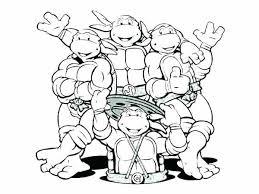 Teenage Mutant Ninja Turtles Coloring Pages Printable Nickelodeon