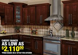 Cherry Shaker Kitchen Cabinets Cherry Shaker Cabinets Kitchen A