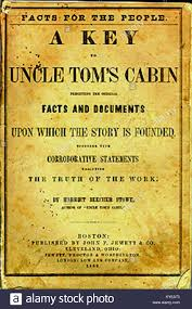 uncle tom s cabin cover stock image