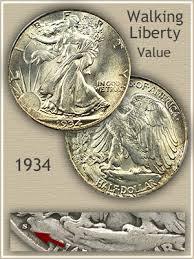 1935 Silver Half Dollar Value Chart 1934 Half Dollar Value Discover Their Worth