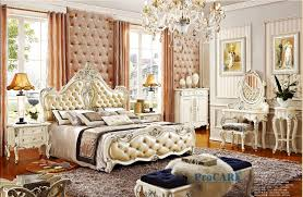 white bedroom furniture sets. Beautiful Bedroom Luxury European Royal Style White Solid Wood Hand Carved Antique Bedroom  Furniture Set With 18m Genuine Leather Bed PRF8001in Bedroom Sets From Furniture  For White
