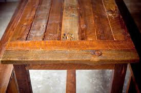 Rustic Furniture Stain Reclaimed Wood Farm Table From Start To Finish Reclaimed Wood