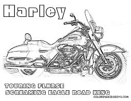 Harley Davidson Coloring Pages To Download And Print For Free ...