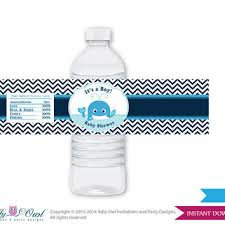 Shop Baby Shower Water Bottle Labels On WaneloBaby Boy Shower Water Bottle Labels