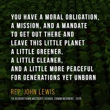 Be Inspired 40 Great Jesuit Commencement Faith Justice Quotes Stunning John Lewis Quotes