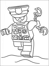 Lego Police Coloring Pages 9 Polizei Geburtstag Emil In 2019
