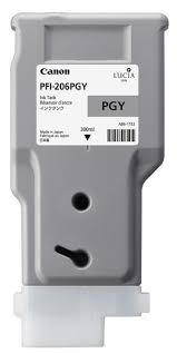 <b>Canon PFI-206PGY Photo Gray</b> Ink Tank (300ml) for ...