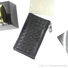 men s leather business card holder designer genuine lambskin leather purse multiple woven knitting leather bag mini bag gift handmade leather wallets wallet
