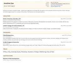 resumonkjust launched  new resume templates for resumonk users   slim  amp  concise templates