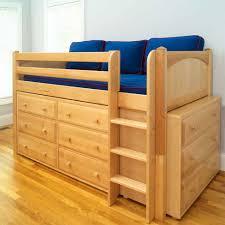 low loft bed plan