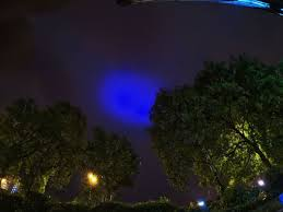 Blue Lights In Sky At Night This Is What Caused The Mysterious Blue Light Over Greater