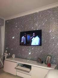 glitter wall in living room 720x960