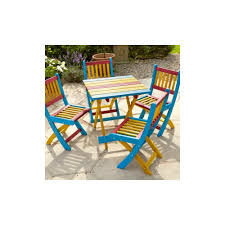 kids wooden table chairs set