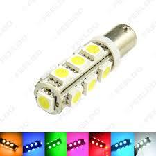 Ba9s Led Light Bulb 1 Pcs 7 Color Ba9s T4w 1895 5050 13smd 13led Lamp Car Side Led Light Bulbs Door Light 12v