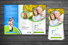 modern professional flyer design for nagesh meharwade by flyer design by debdesign for rural view dental practice information flyers design 6174022