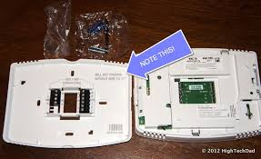 honeywell's wifi enabled thermostat is hot, cool, controlled Wifi Thermostat Wiring htd honeywell wifi thermostat 6013 wifi thermostat wiring directions