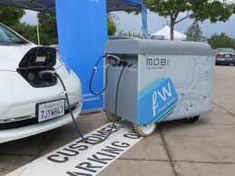 This Mobile Charging Station Runs On Scrapped Batteries And Comes