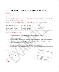 Employment Reference Letter | Template Business
