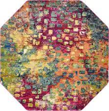 8 x 8 barcelona octagon rug