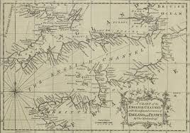 Lake St Catherine Depth Chart Old Maritime Maps English Channel Depth Chart Depth