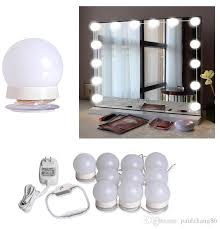 Diy lighting kit Aquarium Led Mount 2019 Hollywood Mirror Light Kit With Dimmable Light Bulbs For Makeup Dressing Table Diy Led Vanity Lighting Strip With Quality Adhesive 10 Lights From Dhgatecom 2019 Hollywood Mirror Light Kit With Dimmable Light Bulbs For Makeup